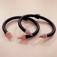 Mini Titan Two Tone Crystal Bracelet /Rose Gold
